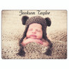 "Custom Personalized Baby Fleece Blanket-30""x40  w/ Your Photos, Pictures, Names, Dates"
