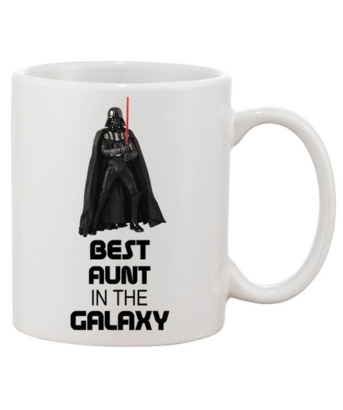 Best Aunt in the Galaxy Ceramic Coffee Mug/ Tell Her She's Out of this World!!