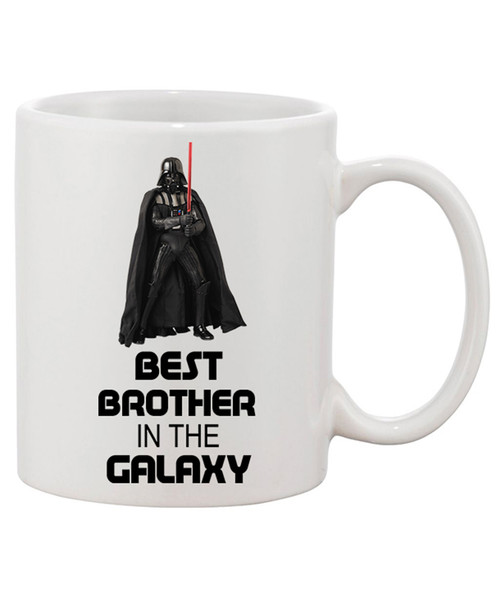 Best Brother in the Galaxy Ceramic Coffee Mug...For the Brother that is out of this WORLD!!