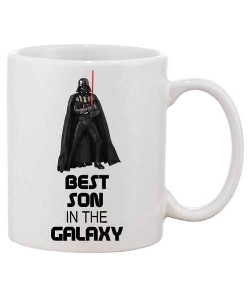 Best Son in the Galaxy Ceramic Coffee Mug - Luke