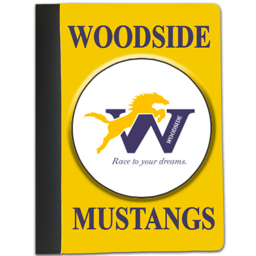 Custom Personalized Back to School Notebook  w/ Lined Paper / Add your School Logo/Design & Name