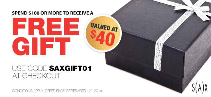 Spend $100 or more to receive a Free Gift valued at $40