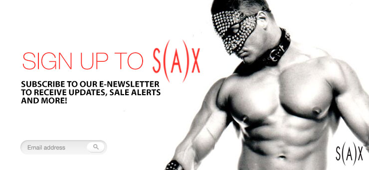 Sign up to our S(AX) VIP Newsletter
