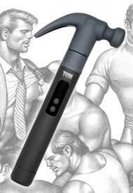 Tom of Finland Night Stick and Hammer with 2 Interchangeable Heads
