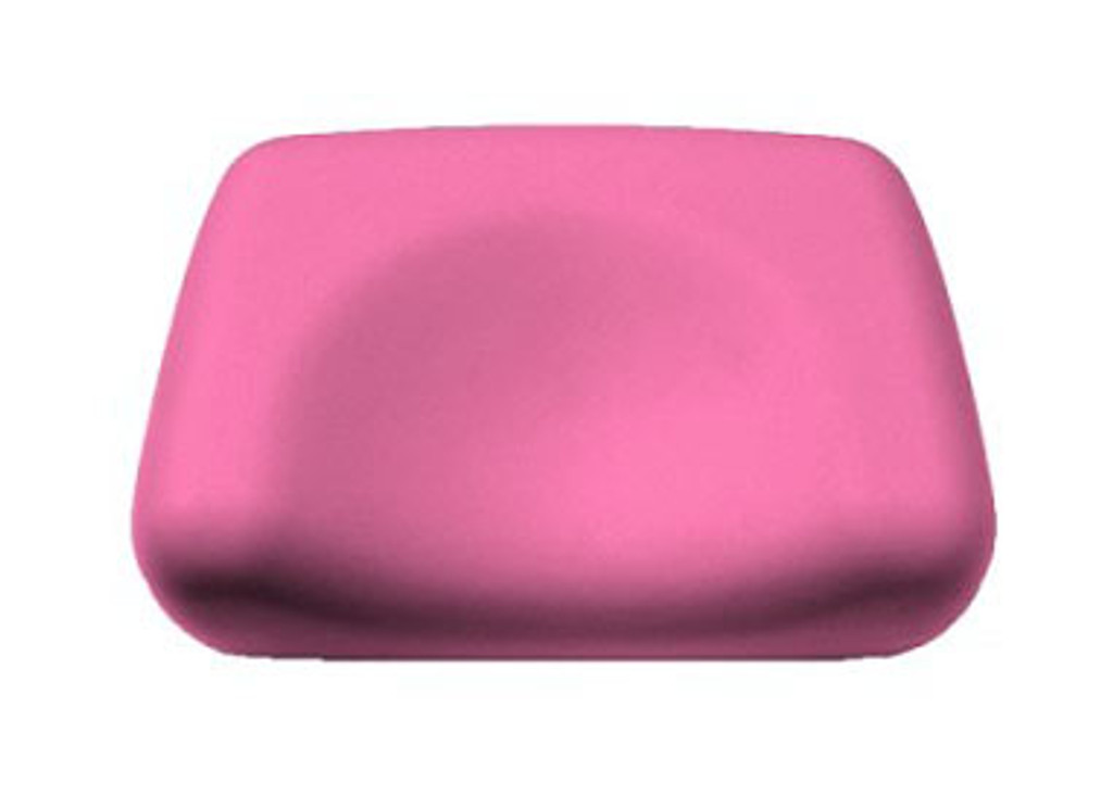 Foam Contoured Tanning Bed Pillow - Pink