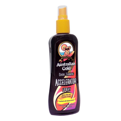 Australian Gold Dark Tanning ACCELERATOR SPRAY - 8.5 oz.