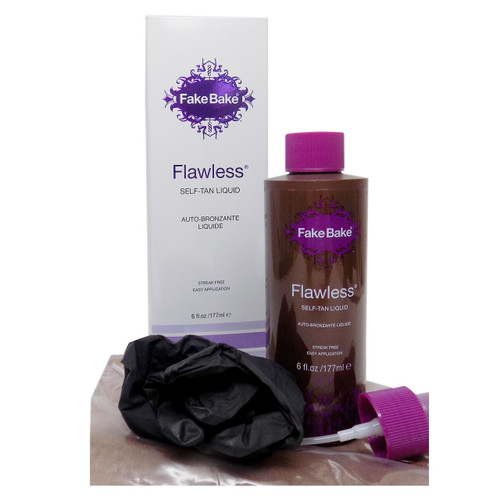 Fake Bake - FLAWLESS Self-Tan Liquid & Professional Mitt 6 oz