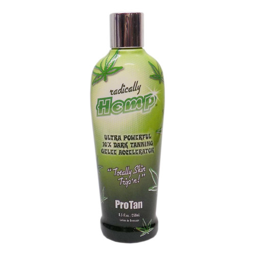 Pro Tan Radically Hemp Ultra Powerful 10X Dark Tanning Gelee Accelerator - 8.5 oz.