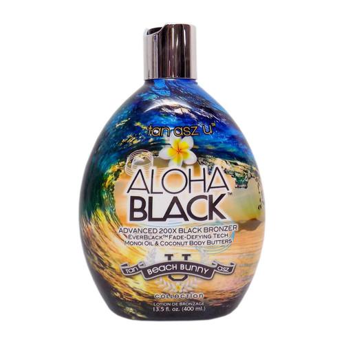 Tan Asz U ALOHA BLACK Advanced 200X Black Bronzer - 13.5 oz.