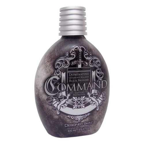 Designer Skin COMMAND Black Bronzer for Men - 13.5 oz.