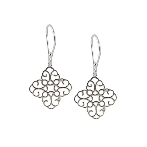 Cathedral Cross Earrings