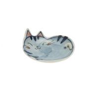 Tea Bag Holder - Stripes Cat
