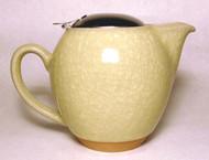 Yellow Crackle Glaze Teapot - 22 oz.