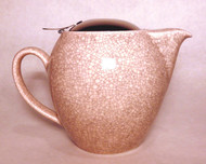 Pink Crackle Glaze Teapot - 22 oz.