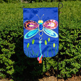 Dragonfly  Applique Flag (Garden)