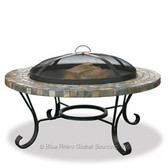 Firepit Tiled Slate Design
