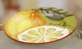 Lemon and Pear Plate