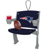 New England Patriots Stadium Chair Ornament