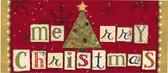 Merry Christmas Switch Mat