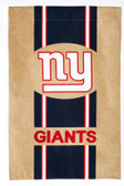 New York Giants Burlap Flag