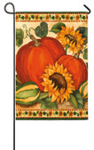Harvest Garden Satin Flag