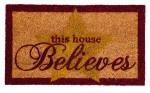 Believes Glitter Coir Mat
