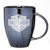 Harley Davidson Black Bistro Cup