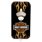 Harley Davidson Magnetic Bottle Opener