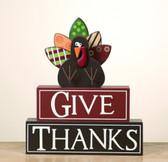 """Give Thanks"" w/Turkey"