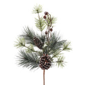 Mini Pine Cones on Stem Decor