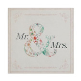 Mr & Mrs Gift Enclosure Card