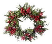 Berry Boxwood Fir Wreath