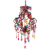 Multi-Color Chandelier