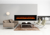 "88"" Electric Fireplace"