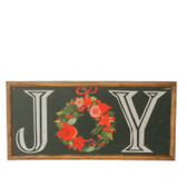"22"" Joy Chalkboard Wall Art"