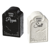 Gravestone Salt and Pepper Shakers
