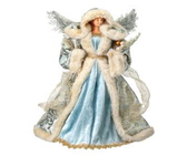 "17"" Fabric Seashore Angel"