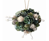 """6"""" Cone and Berry Ball Ornament"""