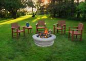 Round Fire Pit