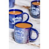 Blue Harley-Davidson Lustre City Cup