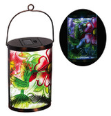 Garden Friends Hummingbird Solar Lantern