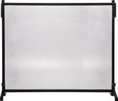 "Black Wrought Iron Panel Screen 33""H x 39""W"