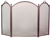 "3 Fold Arch Bronze Screen 34""H x 52""W"
