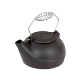 2.7 Qt. Humidifier Black Cast Iron With Chrome Handle