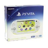 PS Vita Slim 2000 [LIME GREEN / WHITE]