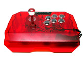 Qanba N1 Arcade Stick [CLEAR RED]