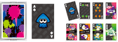 Splatoon Trump 01 [GEAR] Playing Card Set (POKER CARDS)