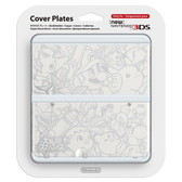 NEW NINTENDO 3DS COVER PLATES - NO. 39 - SUPER SMASH BROS.