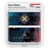 NEW NINTENDO 3DS COVER PLATES - N. 065 MONSTER HUNTER X / CROSS