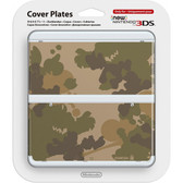 NEW NINTENDO 3DS COVER PLATES - N. 044 (MARIO CAMOUFLAGE GREEN)